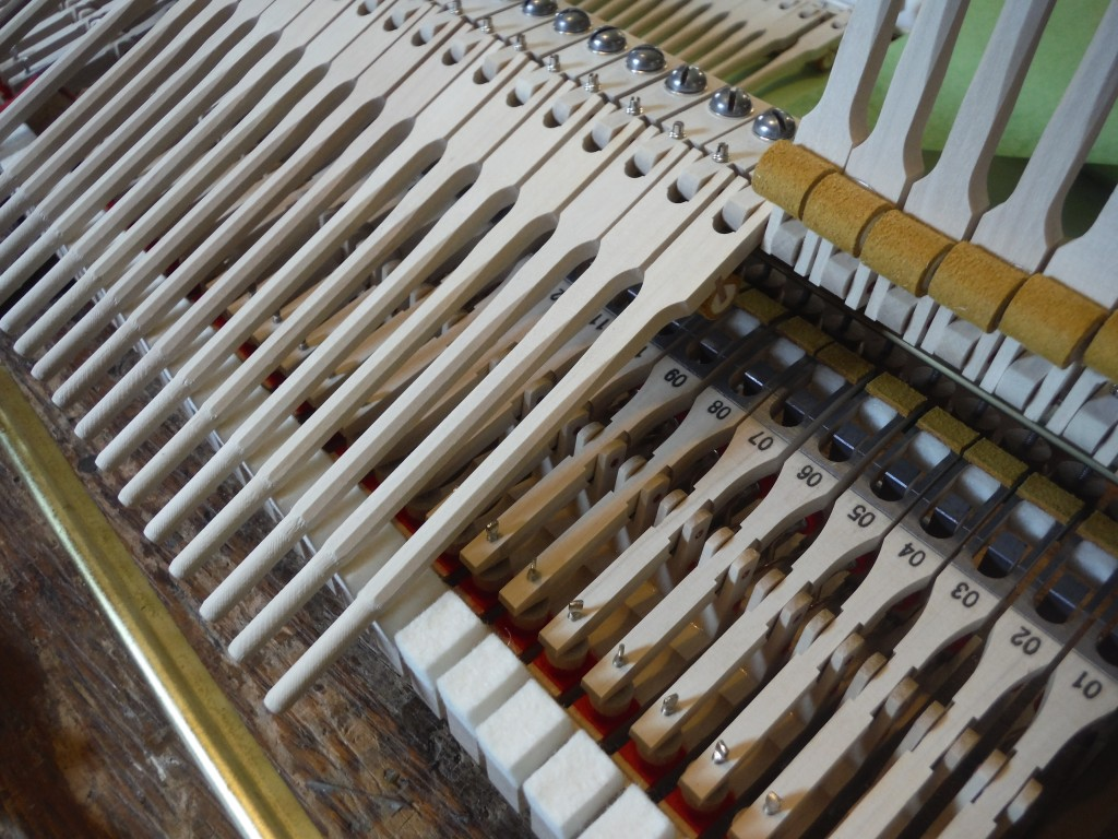 Rebuilding a Piano Action