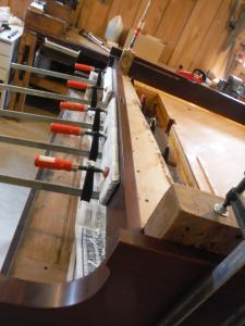 Piano Pinblock Installation