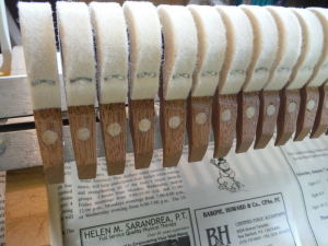 Grand Piano Hammer Head Replacement